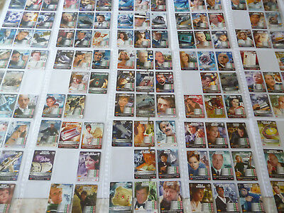 James Bond Collectors Cards - Commander Series - Almost Full Set 260 Of 275