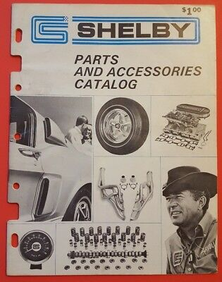 1968 Shelby Parts And Accessories Catalog Performance Equipment - Original