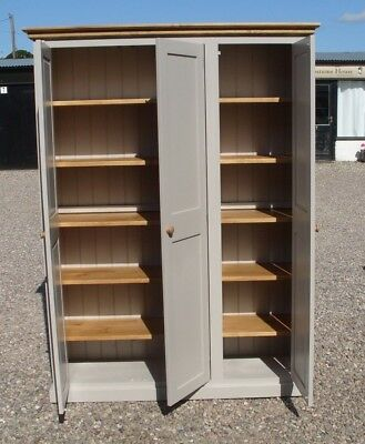 Hall Storage Cupboard Boot Room/Utility - 3 Door Fully Shelved