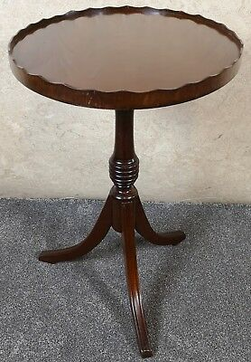 Reprodux Bevan Funnell Mahogany Wine Table - Occasional Table