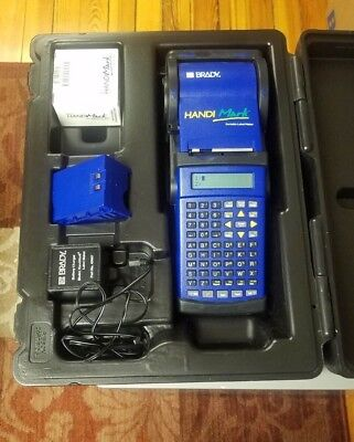 Brady HandiMark Label Maker with Battery Pack with Accessories and Extras