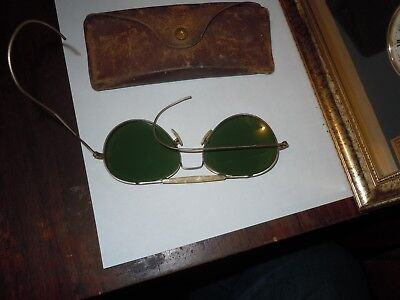 Vintage Ray Ban Aviator Sunglasses 12 Kgf W/leather Case