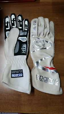 GUANTI SPARCO ARROW OMOLOGATI FIA TG 12 RACING GLOVES FIA handschuhe