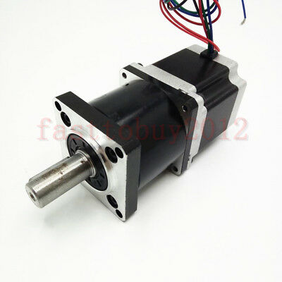 5*3NM Nema23 Stepper Motor Extruder Speed Gear Ratio 5:1 Planetary Reducer CNC