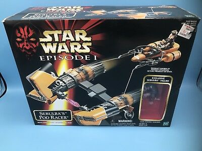Star Wars,Episode 1,Sebulba's Pod Racer.with exclusive figure,1998,new in box.