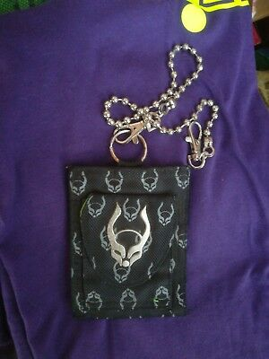 Cyberdog wallet uv great condition with a chain