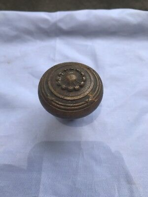 Eastlake Victorian Antique Door Knob Doorknob Collectible Hardware