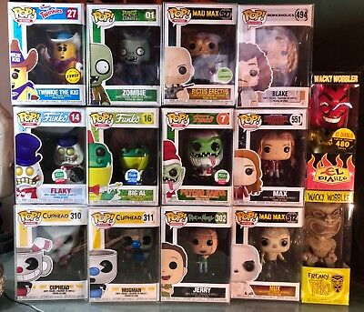 Funko Pop! Vinyl Exclusive Chase Rare SDCC ECCC L.E. Movies, Television, & Games