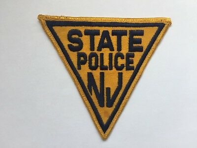 NEW JERSEY State Police Patch