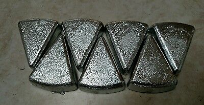 10 lbs Zinc Ingot Bullion Bar Marine Scrap Metal Coating