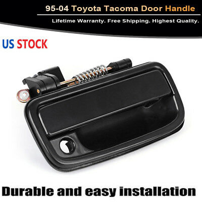 New 95-04 Toyota Tacoma Front Right RH Side Outer Door Handle Black TO1311117