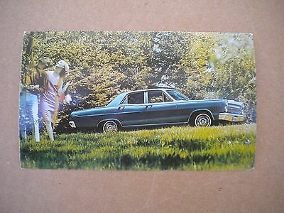 1966 Mercury Caliente Car Dealers  Post Card