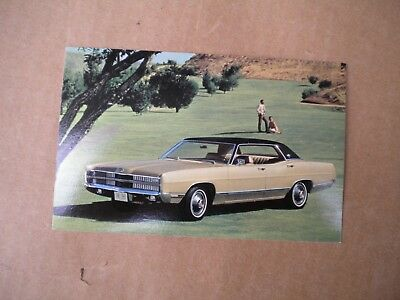1969 Ford Car Dealers  Post Card