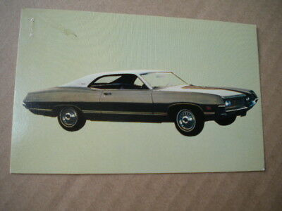 1971 Ford Torino Car Dealers  Post Card