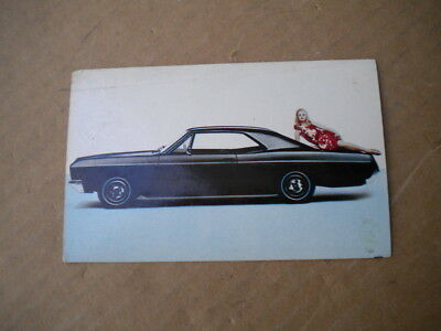 1967 Buick Car dealers Post Card
