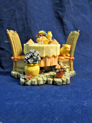 """Ivy Cove Edition """"IVY & INNOCENCE - TABLE FOR TWO FIGURINE"""" #05218 #1A/0368"""