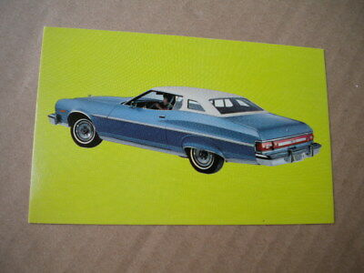 1974 Ford Torino Car Dealers  Post Card