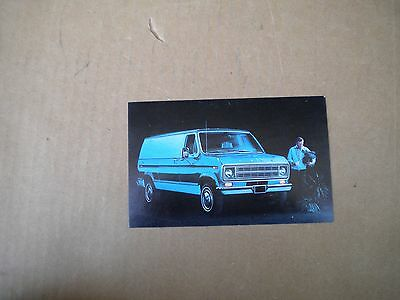 1975 Ford Econoline Car Dealers  Post Card