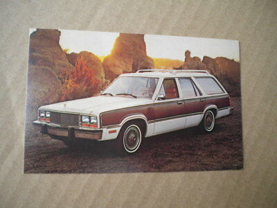 1979 Mercury Car Dealers  Post Card