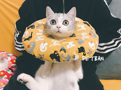 Pet Recovery Collar Soft Elizabethan E-Collar Cone for Dogs and Cats