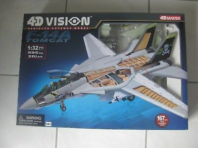 1:32 F-14 Tomcat 4D Vision 26121 USS Nimiz Jolly Rogers Trumpeter Hachette