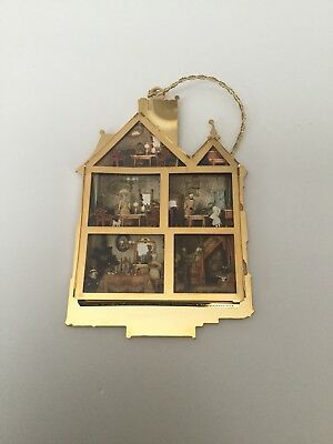 the first victorian doll house christmas ornament by bing & grondahl collections