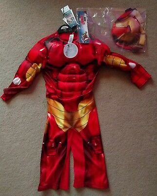 Avengers 'Iron Man' Children's Costume [2-3yrs] * BRAND NEW WITH LABELS *