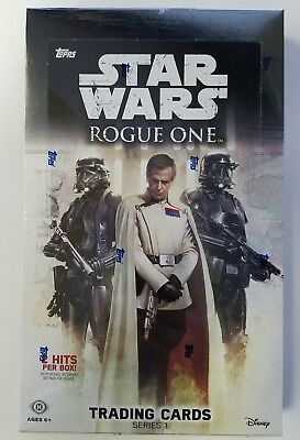 2016 Topps Star Wars Rogue One Series 1 Factory Sealed Hobby Box