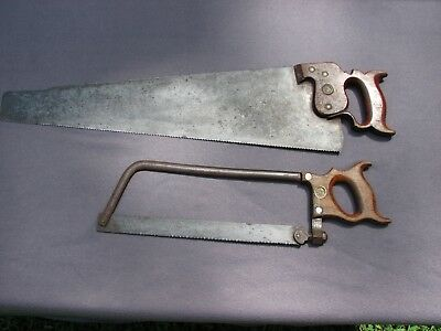 Collectible Richardson & Harvey W. Peace Dated  Saws