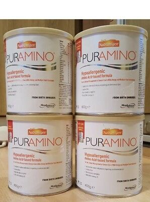 Nutramigen puramino x4 Sealed Tins