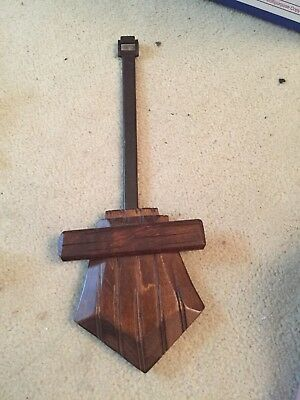 "Large Black Forest Cuckoo Clock Pendulum 11"" Long 4.25"" Wide Very Good"