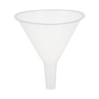 3X(120ml 4 9/10 Mouth Dia Laboratory Clear White Plastic Filter Funnel T1M4)