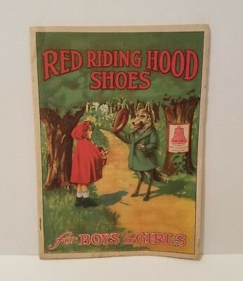 Vintage Shoes Advertising & Story Booklet  Red Riding Hood