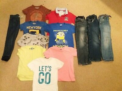 Fab Mixed Boys Clothes Bundle Next & H&M V Good Condition. 3-4, 4-5, 5-6 Years
