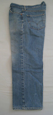 Vtg used Levi's 501 XX Jeans Waist 36 Inseam 30