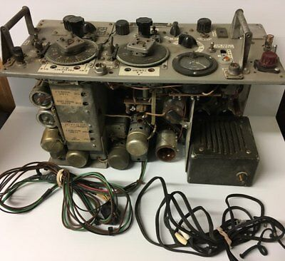 1942 RCA Wireless Sets No19 MK II Transceiver - EARLY Serial Number 0378 - WW2