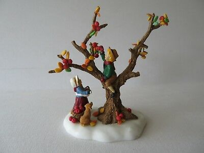 "Dept 56 Village Accessories ""up In The Apple Tree""  #56.56640 Retired"