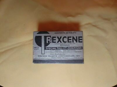 Trexcene Special Tablets Youngs Rubber - Trojan Condoms Quack STD Apothecary $5