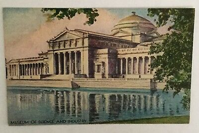 Vintage Postcard - A Century of Progress, Museum of Science and Industry