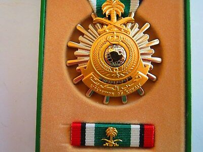 New Gulf War Liberation of Kuwait Medal Set w/ Ribbon King of Saudi Arabia