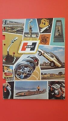 Hurst shifters engine conversions  wheels catalog 1968