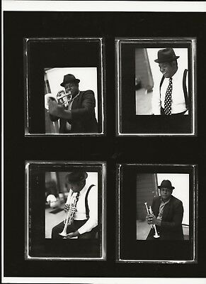 *N927 VINTAGE MOVIE 8X10 CONTACT SHEET PHOTO Forest Whitaker BLACK PANTHER