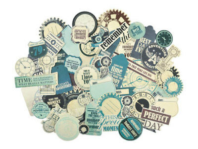 *A&B* KAISERCRAFT Scrapbooking Collectables - Time Machine - CT836 - LTD STOCK