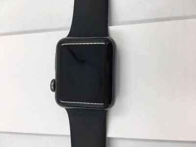 Apple Watch Series 3 38mm Space Gray with Black Sport Band (GPS + CELL)