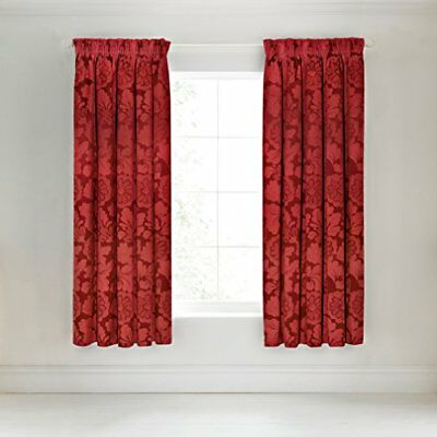 Broomhill Elora Tende foderate, Rosso, 66x 72