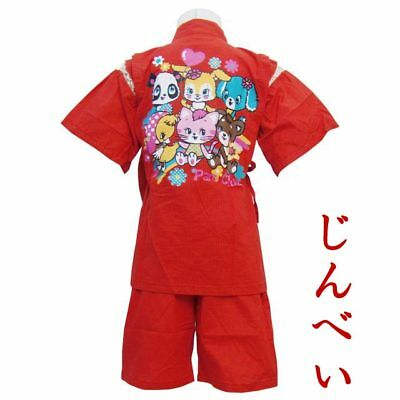 New, Girl's Jinbei, Traditional Japanese clothing (US kid's size 4T - size 5)