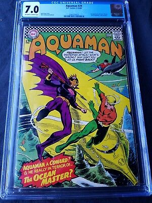 Aquaman #29, Cgc 7.0 (Sep 1966) 1St Appearance Of Ocean Master,key Issue !