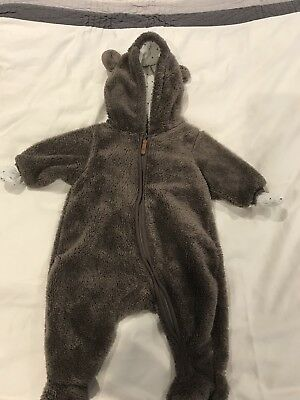 H&M Baby Bear Pramsuit - 1-2 Months old As Per Tag
