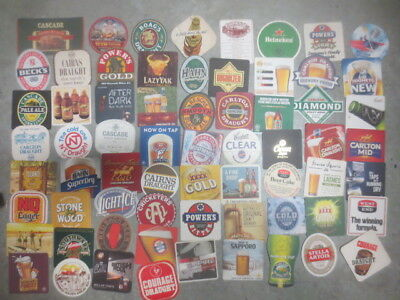 66 different  Australian Breweries   Issued  BEER COASTERS