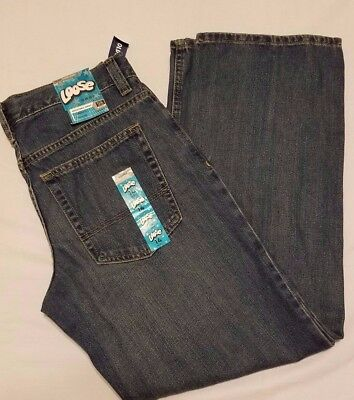 """Boy's New w/ Tags Old Navy Loose Fit Jeans Size 14 Husky  29"""" Inseam"""